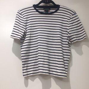Lauren by Ralph Lauren Stripped T-shirt